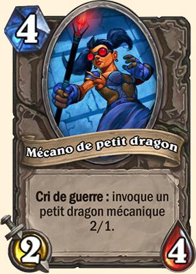 Mécano de petit dragon carte Hearthstone