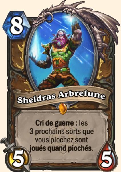 Sheldras Arbrelune carte Hearthstone