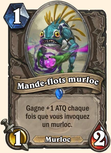 Maître des flots murloc - Carte Hearthstone