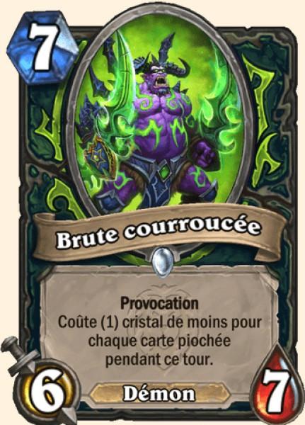 Brute courroucée carte Hearthstone