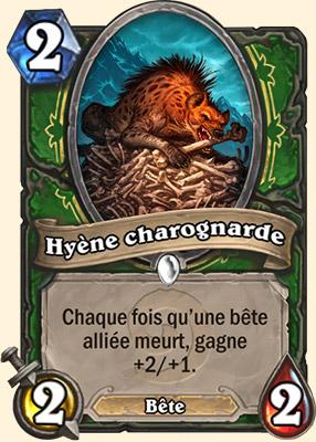 Hyène charognarde carte Hearthstone