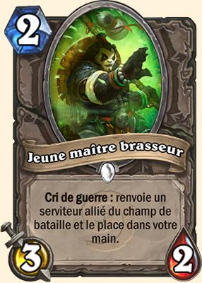 Jeune Maître-Brasseur - Carte Hearthstone