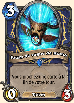 Totem de vague de mana carte Hearthstone
