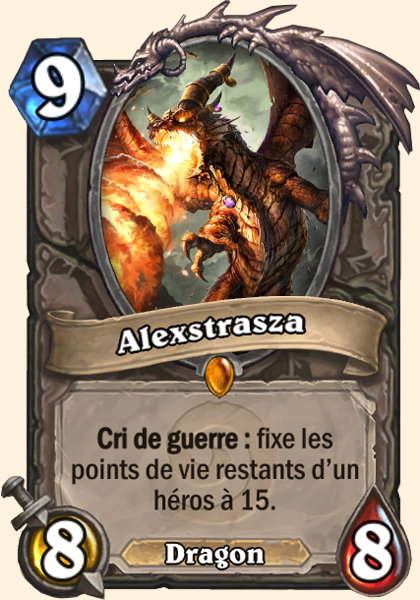 Alexstrasza - Carte Hearthstone