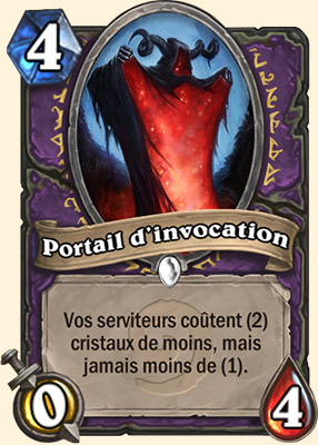 Portail d'invocation carte Hearthstone