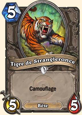 Tigre de Strangleronce carte Hearthstone