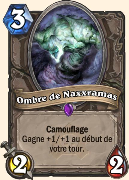 Ombre de Naxxramas - Carte Naxxramas Hearthstone