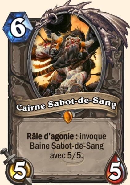Cairne Sabot-de-Sang carte Hearthstone