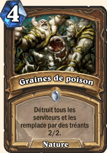 Graines de poison - Carte Naxxramas Hearthstone