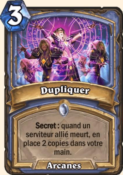 Dupliquer - Carte Naxxramas Hearthstone