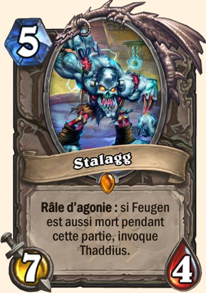 Stalagg - Carte Naxxramas Hearthstone