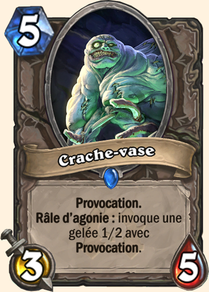 Crache-vase carte Hearthstone