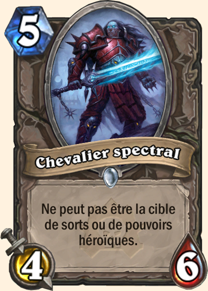 Chevalier spectral carte Hearthstone