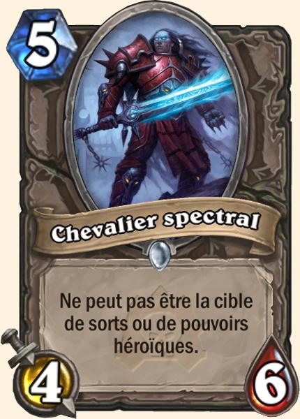 Chevalier spectral carte Hearthstone