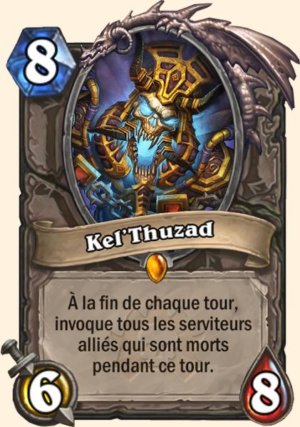 Kel'Thuzad - Carte Naxxramas Hearthstone