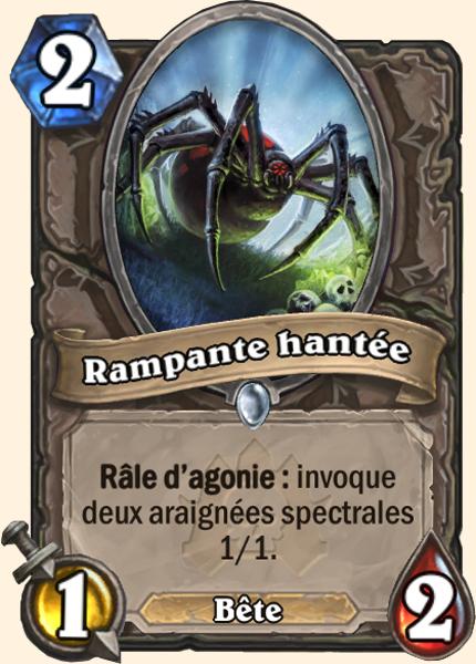 Rampant Hanté - Carte Naxxramas Hearthstone