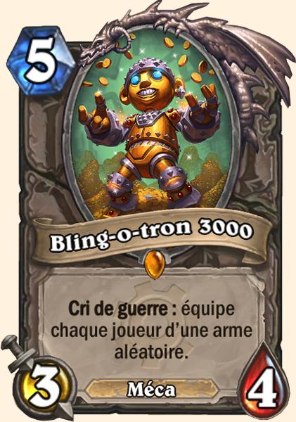 Bling-o-tron 3000 carte Hearthstone