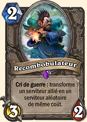 Recombobulateur carte Hearthstone