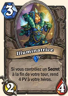 Illuminatrice carte Hearthstone