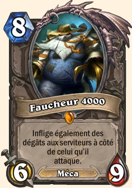 Faucheur 4000 carte Hearthstone