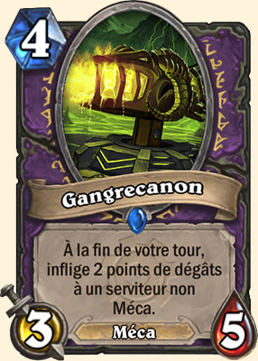 Gangrecanon carte Hearthstone