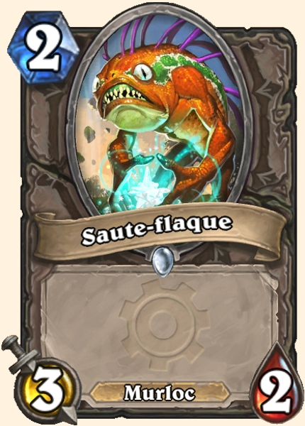 Saute-flaque carte Hearthstone