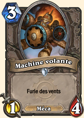 Machine volante carte Hearthstone