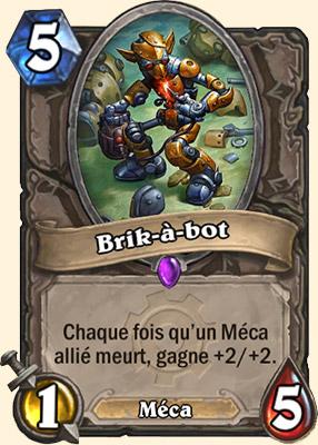 Brik-à-bot carte Hearthstone
