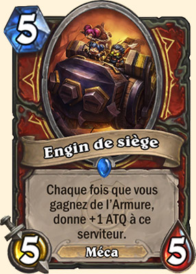 Engin de siège carte Hearthstone