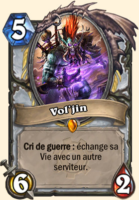 Vol'jin carte Hearthstone