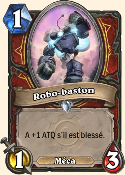 Robo-baston carte Hearthstone