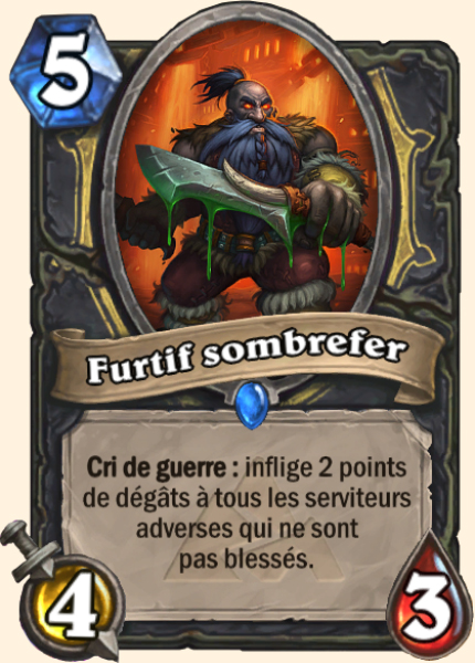 Furtif sombrefer carte Hearthstone