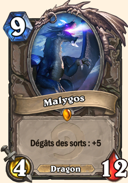 Malygos carte Hearthstone