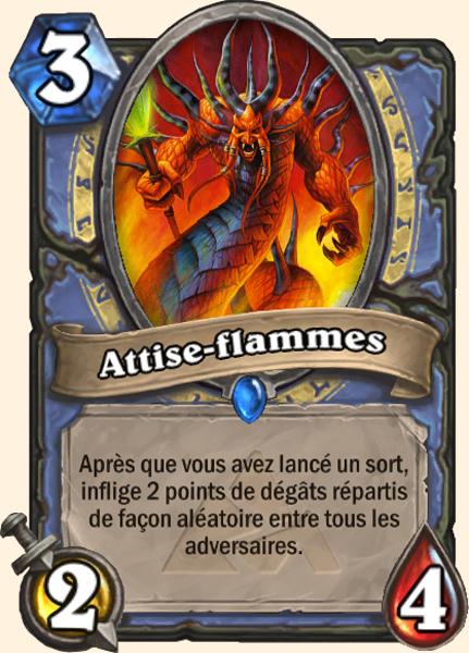 Attise-flammes- Carte Mont Rochenoire Hearthstone