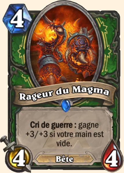 Rageur du Magma - Carte Mont Rochenoire Hearthstone