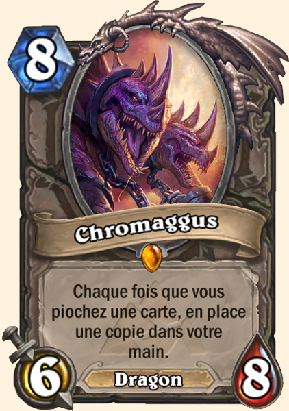 Chromaggus carte Hearthstone