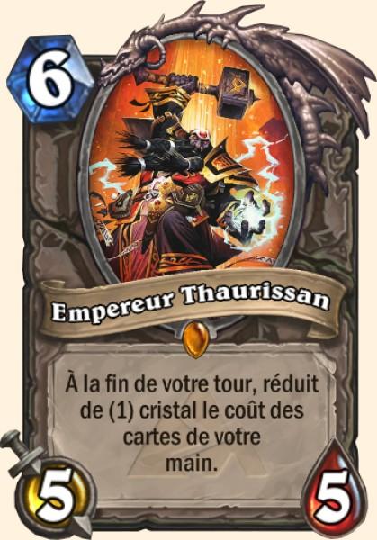 Empereur Thaurissan carte Hearthstone