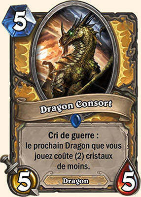Dragon Consort carte Hearthstone