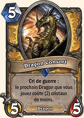Dragon Consort - Carte Mont Rochenoire Hearthstone