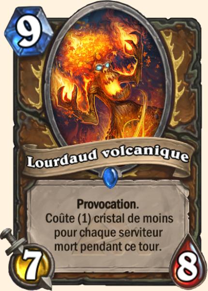 Lourdaud volcanique - Carte Mont Rochenoire Hearthstone