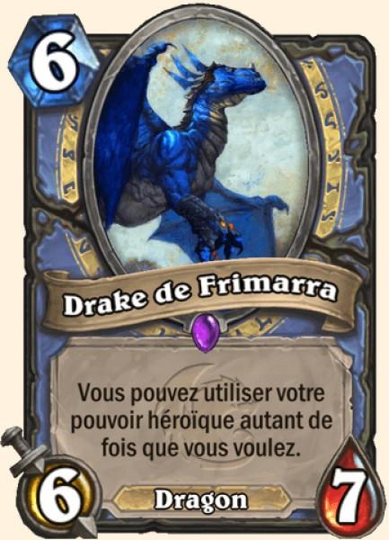 Drake de Frimarra carte Hearthstone