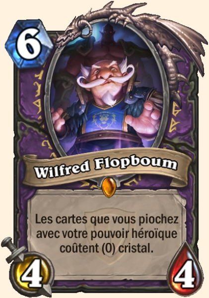 Wilfred Flopboum carte Hearthstone
