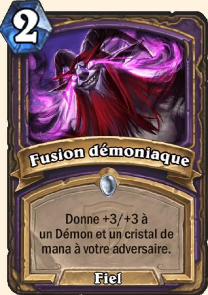 Fusion démoniaque carte Hearthstone