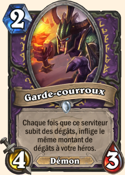 Garde-courroux carte Hearthstone