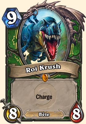 Roi Krush carte Hearthstone