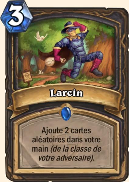 Larcin carte Hearthstone