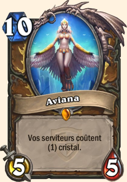 Aviana carte Hearthstone