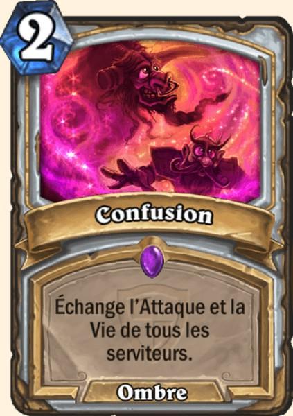 Confusion carte Hearthstone