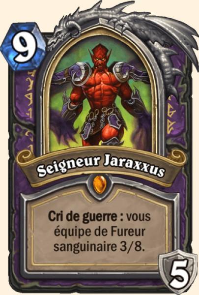 Seigneur Jaraxxus carte Hearthstone