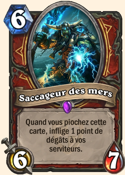 Saccageur des mers carte Hearthstone